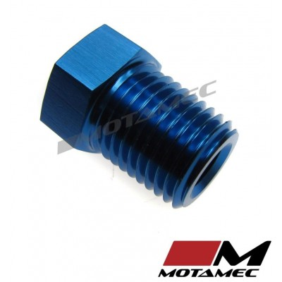 """Motamec AN JIC 6 AN6 Male To 1//4/"""" NPT Adapter Fitting with 1//8 NPT Female Alloy"""