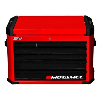 Motamec Motorsport M90 Top Chest Tool Box Cabinet Red / Black