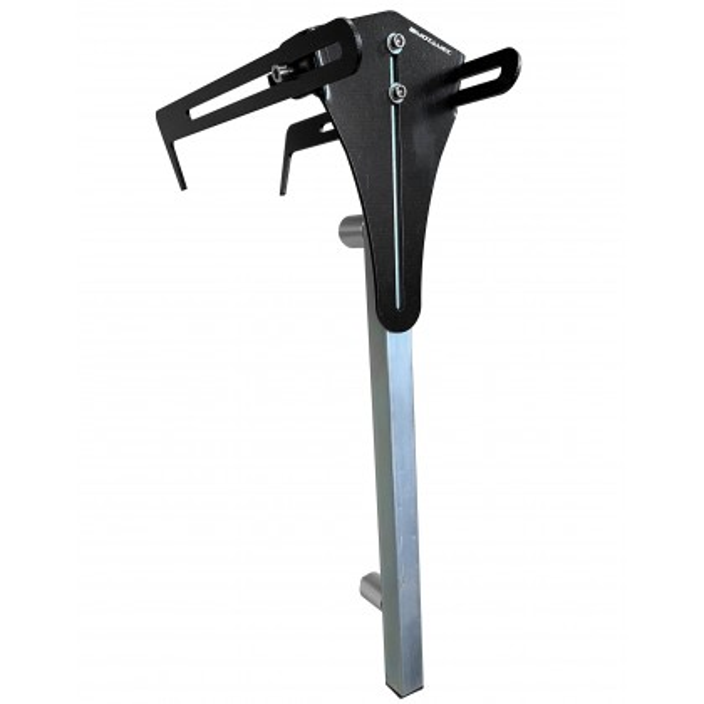 """Motamec Camber Castor Gauge Adapter Bar Holder Bracket for Wheels Up To 19"""""""