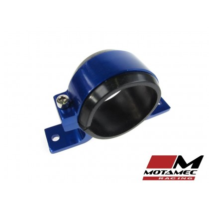 Alloy Single Fuel Pump Mount Cradle 60mm Injection Pump / Filter Mounting BLUE