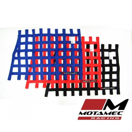 Motamec Racing Driver Window Net Angled Quarterlight SFI Approved Race Car Stock