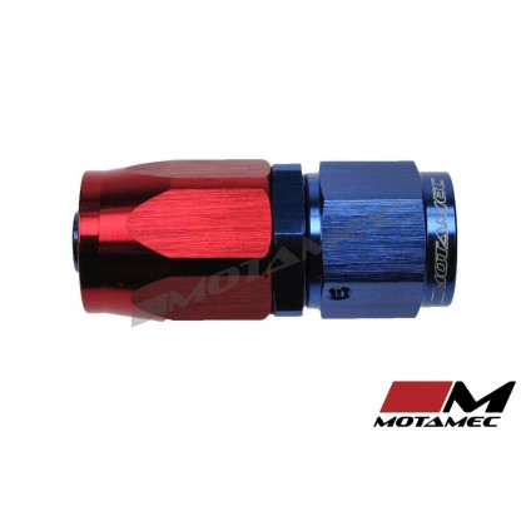 Motamec AN -6 AN6 JIC Straight Hose End Alloy Fitting Fuel Oil Aeroquip Type