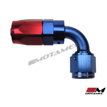 Motamec AN -6 AN6 JIC 90 Degree Swivel Hose End Alloy Fitting Fuel Oil