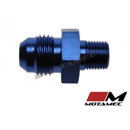 "Motamec AN -6 AN6 JIC to 1/8"" NPT Straight Aluminium Alloy Fitting Adapter"