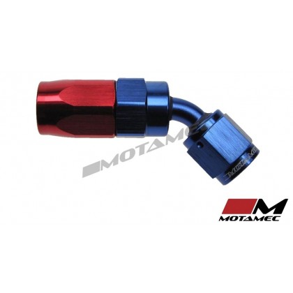 Motamec AN -4 AN4 JIC 45 Degree Swivel Hose End Alloy Fitting Aeroquip Type