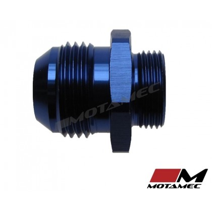 Motamec AN -12 AN12 JIC to M22x1.5 Metric Thread Alloy Fitting Adapter