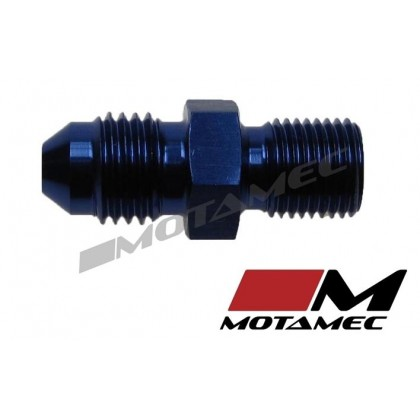 Motamec AN -4 AN4 JIC to M10x1.0 Metric Thread Alloy Fitting Adapter