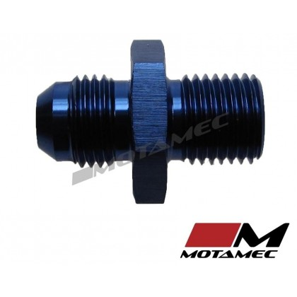 Motamec AN -6 AN6 JIC to M14x1.5 Metric Thread Alloy Fitting Adapter