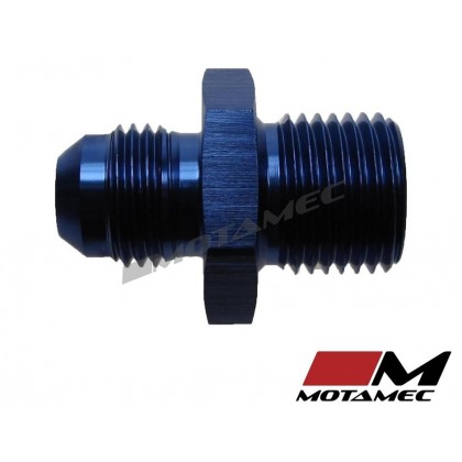Motamec AN -6 AN6 JIC to M16x1.5 Metric Thread Alloy Fitting Adapter