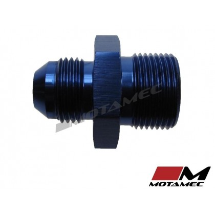 Motamec AN -8 AN8 JIC to M22x1.5 Metric Thread Alloy Fitting Adapter