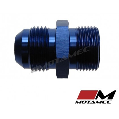 Motamec AN -10 AN10 JIC to M22x1.5 Metric Thread Alloy Fitting Adapter