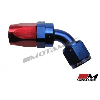 Motamec AN -8 AN8 JIC 60 Degree Swivel Hose End Alloy Fitting Fuel Oil