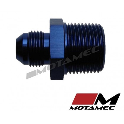 "Motamec AN -8 AN8 JIC to 3/4"" NPT Straight Aluminium Alloy Fitting Adapter"