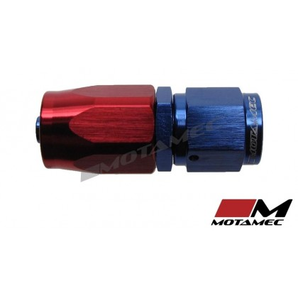 Motamec AN -4 AN4 JIC Straight Hose End Alloy Fitting Aeroquip Type