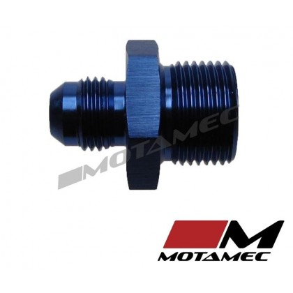 Motamec AN -6 AN6 JIC to M20x1.5 Metric Thread Alloy Fitting Adapter