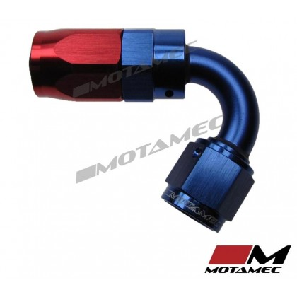 Motamec AN -6 AN6 JIC 120 Degree Swivel Hose End Alloy Fitting Fuel Oil