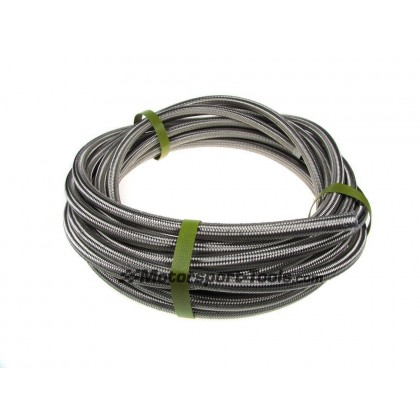 Motamec AN -6 AN6 JIC Stainless Steel Braided Hose Fuel Oil Coolant 1m Metre