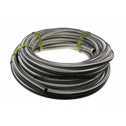 Motamec AN -12 AN12 JIC Stainless Steel Braided Hose Fuel Oil Coolant 1m Metre