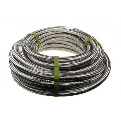 Motamec AN -16 AN16 JIC Stainless Steel Braided Hose Fuel Oil Coolant 1m Metre
