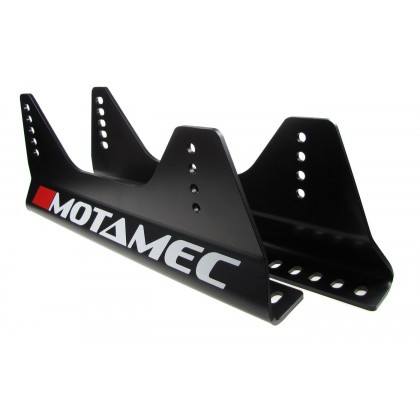 Motamec Alloy Seat Side Mounts Bracket Universal Fits Sparco OMP with Sticker