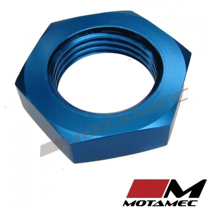 Motamec AN JIC -10 AN10 Nut for Bulkhead Fittings Alloy