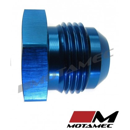 Motamec AN JIC -12 AN12 Flare End Plug Blanking Fitting Alloy Adapter