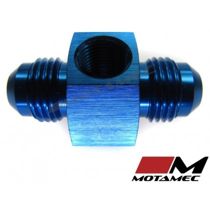 "Motamec AN JIC -6 AN6 Male To Male with 1/8"" NPT Port Fitting Alloy Adapter"