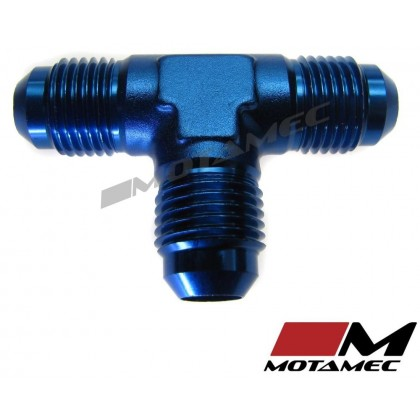 Motamec AN JIC -6 AN6 Flare Union Tee T-Piece Fitting Adapter Alloy Fitting