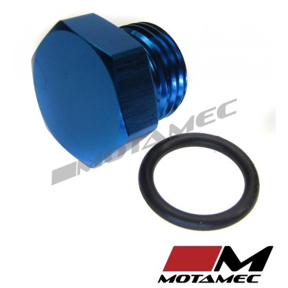 Motamec AN JIC -6 AN6 Flare Plug with O Ring Seal Blanking Fitting Alloy Adapter
