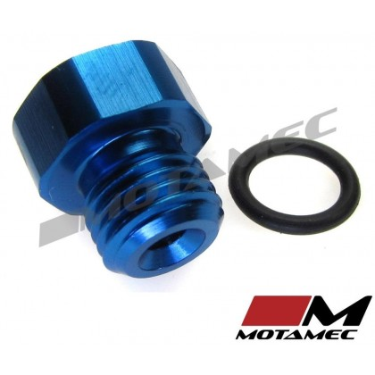 Motamec AN JIC -3 AN3 Flare Plug with O Ring Seal Blanking Fitting Alloy Adapter