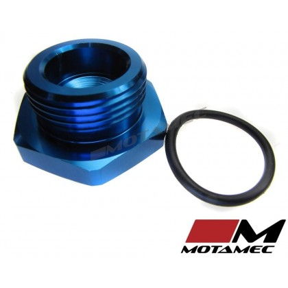 Motamec AN JIC -16 AN16 Flare Plug with O Ring Seal Blanking Fitting Alloy Adapter