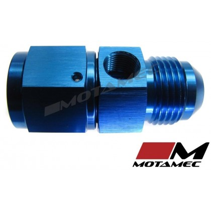 "Motamec AN JIC -10 AN10 Female To Male with 1/8"" NPT Port Fitting Alloy Adapter"