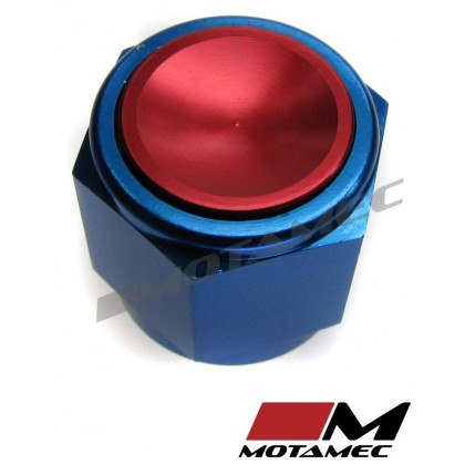 Motamec AN JIC -8 AN8 Female Alloy Cap Fitting Oil Fuel
