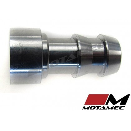 "Motamec 3/8"" Aluminium Alloy Weld On Push On Barb Billet Fitting"