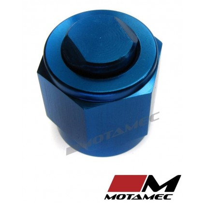 Motamec AN JIC -6 AN6 Flare End Cap Blanking Plug Fitting Alloy Adapter