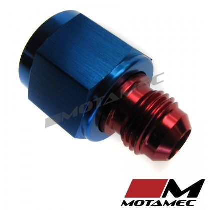 Motamec AN JIC -8 AN8 Female to AN JIC -6 AN6 Male Flare Reducers Alloy Fitting