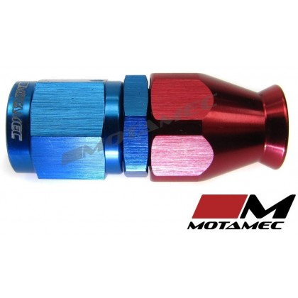 Motamec AN JIC -4 AN4 Straight Teflon PTFE Hose Fitting End Alloy Fuel Oil Aeroquip