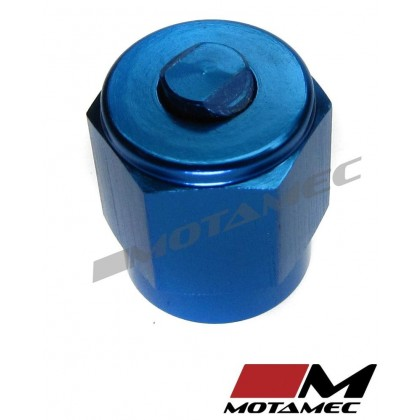 Motamec AN JIC -3 AN3 Flare End Cap Blanking Plug Fitting Alloy Adapter
