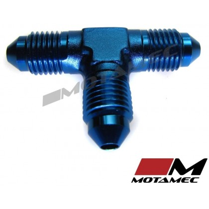 Motamec AN JIC -3 AN3 Flare Union Tee T-Piece Fitting Adapter Alloy Fitting