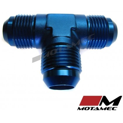 Motamec AN JIC -12 AN12 Flare Union Tee T-Piece Fitting Adapter Alloy Fitting