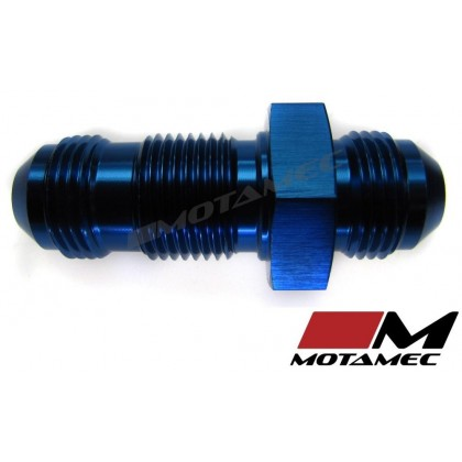Motamec AN JIC -8 AN8 Flare Union Bulkhead Straight Alloy Fitting Adapter