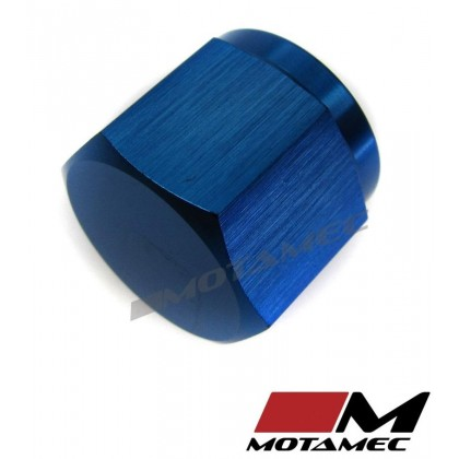 Motamec AN JIC -6 AN6 Female Alloy Cap with O-Ring Seal Fitting Oil Fuel