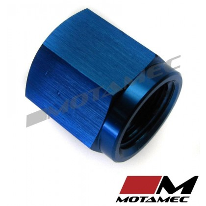 Motamec AN JIC -4 AN4 Female Alloy Cap with O-Ring Seal Fitting Oil Fuel
