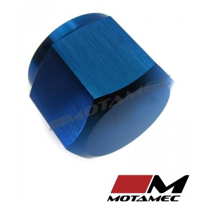 Motamec AN JIC -8 AN8 Female Alloy Cap with O-Ring Seal Fitting Oil Fuel