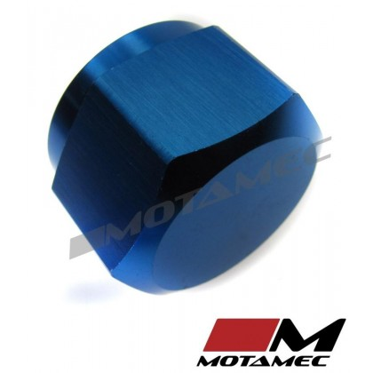 Motamec AN JIC -12 AN12 Female Alloy Cap with O-Ring Seal Fitting Oil Fuel