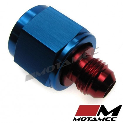Motamec AN JIC -10 AN10 Female to AN JIC -6 AN6 Male Flare Reducers Alloy Fittin