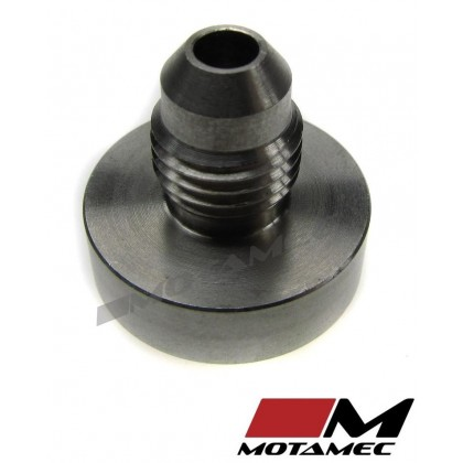 Motamec AN JIC -4 AN4 Male Stainless Steel SS Weld On Bung Fitting