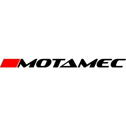 Motmec Sticker Die-Cut - 700mm x 50mm - Red and Black