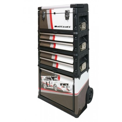 Motamec Modular Tool Box Trolley Mobile Cart Cabinet Chest Quattro S1 PIKES PEAK