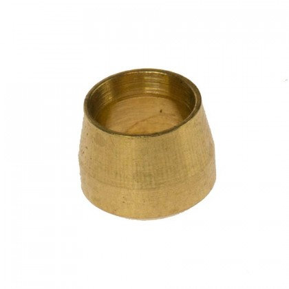 Motamec Spare Brass Olive for Stainless Brake Fitting -4 AN Size